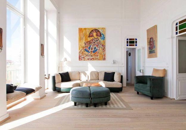 Appartement arty avec vue sur le Tage à Lisbonne