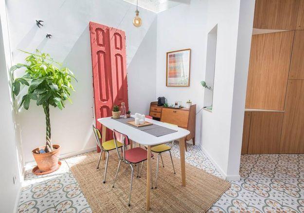 Appartement avec grande terrasse aménagée à Lisbonne
