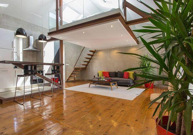 Appartement avec mezzanine à Lisbonne