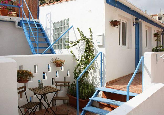 Appartement avec petite terrasse typique à Lisbonne