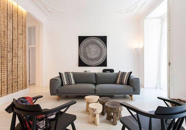 Appartement épuré avec grande terrasse à Lisbonne