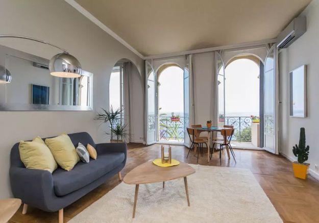 Appartement avec vue sur mer à Nice