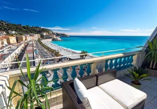 Duplex avec vue sur mer à Nice