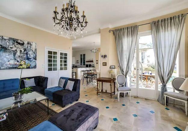 Villa Belle Epoque avec vue sur mer à Nice