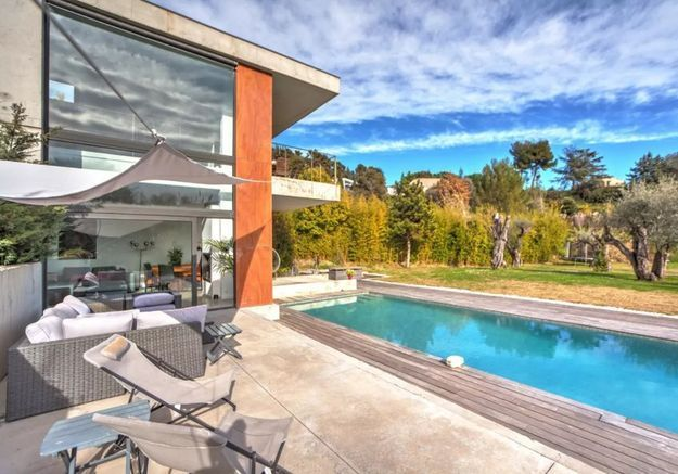 Villa d'architecte avec piscine XXL à Nice