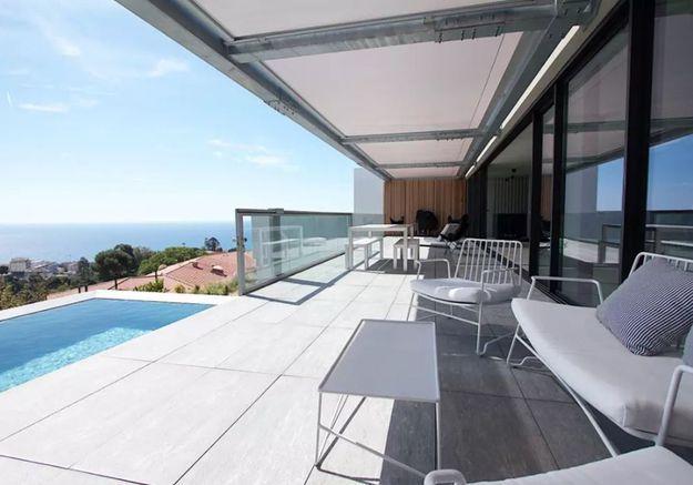 Villa design avec vue sur mer à Nice