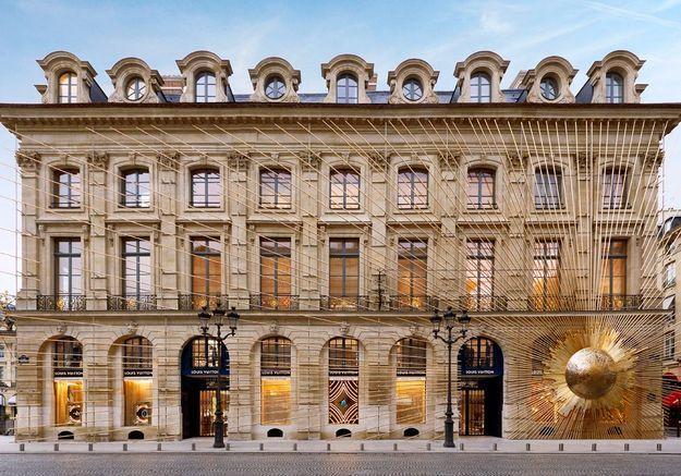 Découvrez la Maison Louis Vuitton Vendôme
