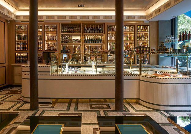 Boutique Caviar Kaspia - Une institution