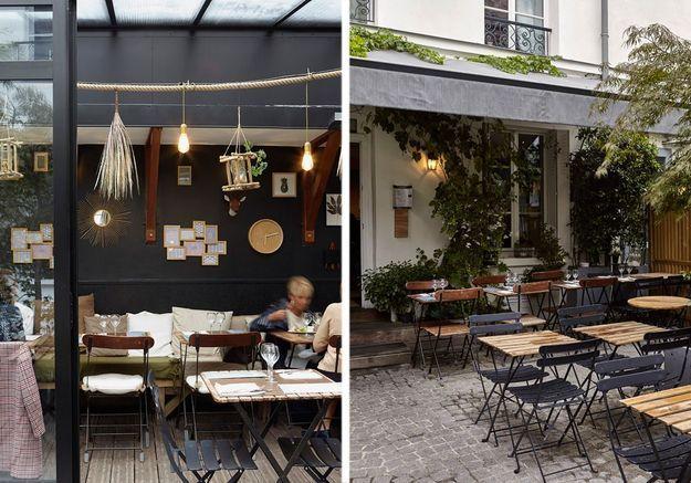 Restaurant La Villa Passy - Paradis caché