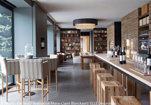 Bibliothèque à vins