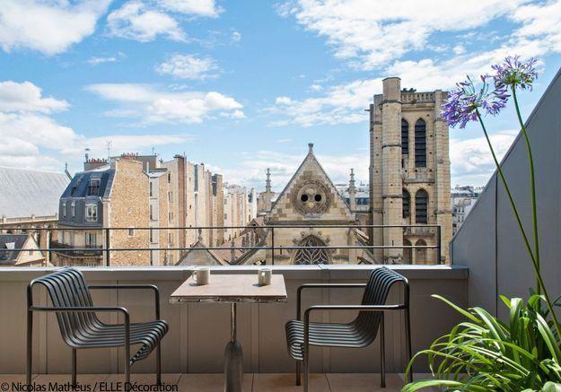 Hôtel National des Arts et Métiers : le penthouse