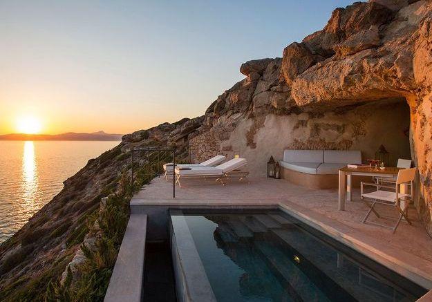 La chambre de l'hôtel Cap Rotat à Majorque
