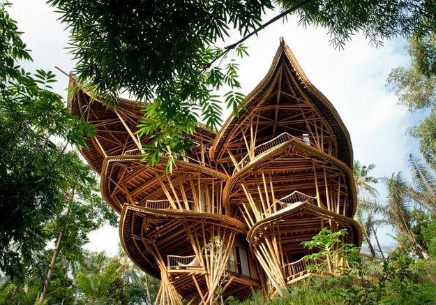 Une maison de 5 étages à Abiansemal (Bali)