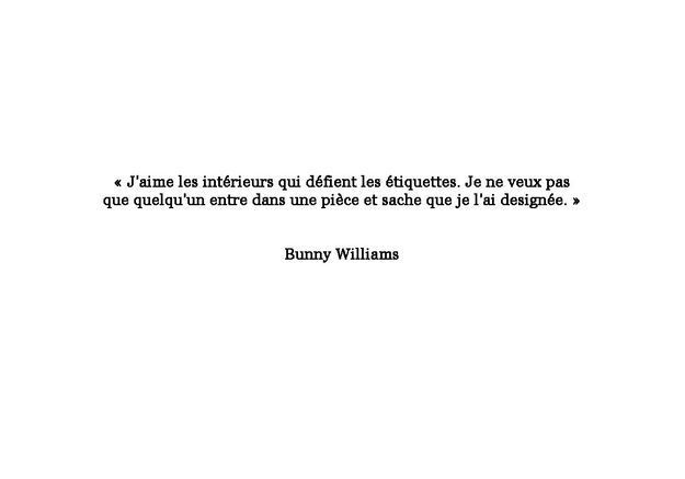 Citation de Bunny Williams