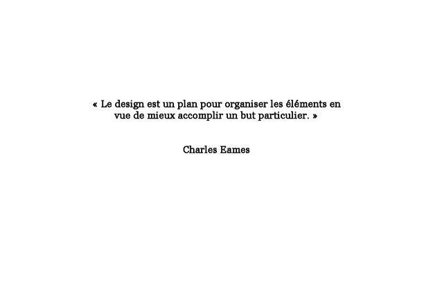 Citation de Charles Eames