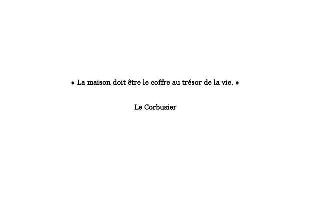 Citation Le Corbusier