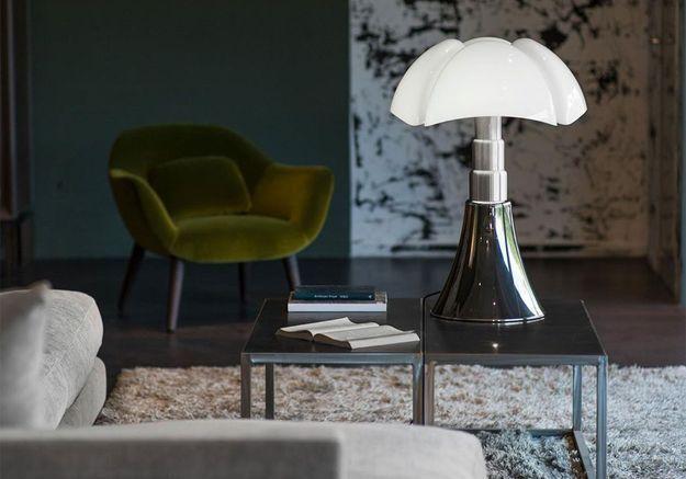 Lampe Pipistrello (de Gae Aulenti / Martinelli Luce)
