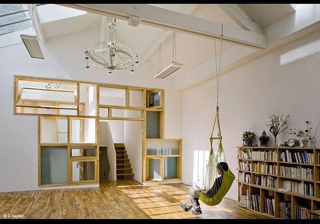 Decoration visite maison architecte 75010  Colboc Franzen
