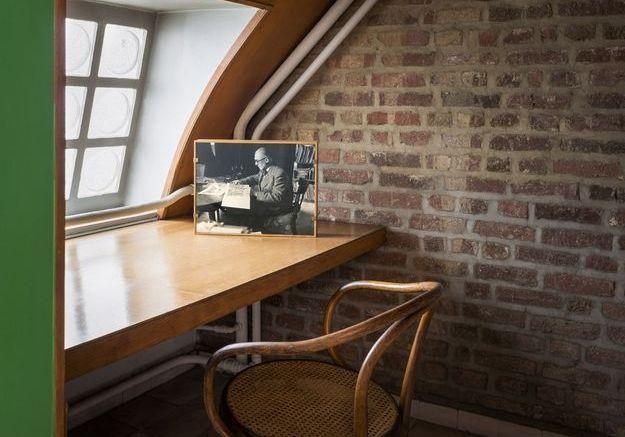 Bureau sous les toits