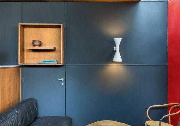 Un salon abstrait