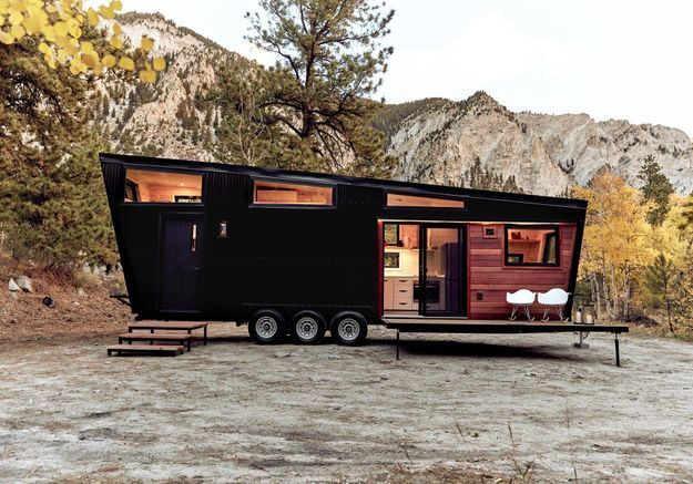 Une tiny house version grand luxe