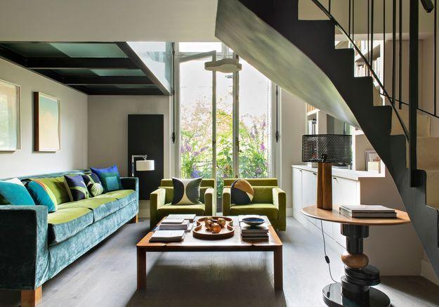 Ce duplex coloré de 59 m² va vous (re)donner le sourire !