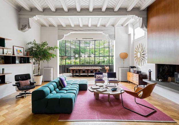 Couleurs, mix & match, design : une maison qui ose et en impose !
