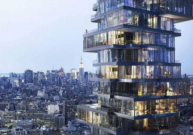 Appartement futuriste à New York