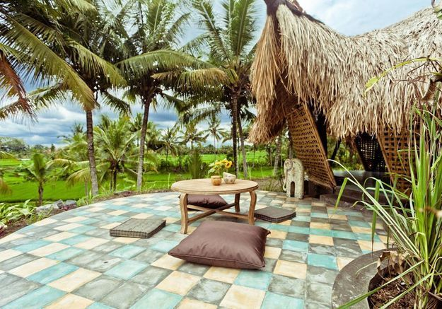 Chalet écologique à Bali