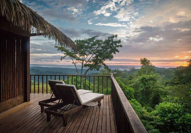 Maison à la vue magique au Costa Rica