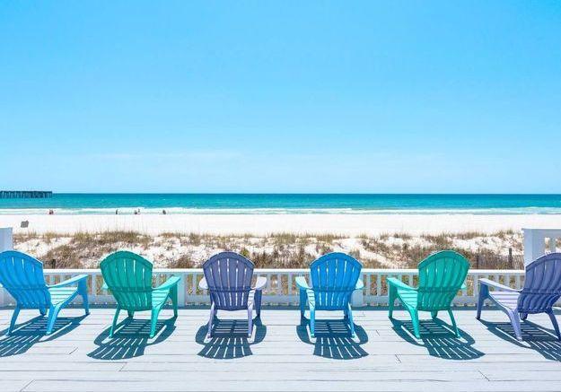 Maison sur la plage en Floride