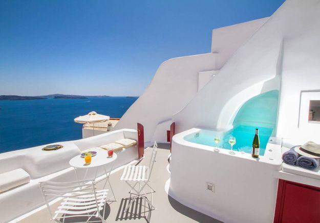 Maison troglodyte en Grèce