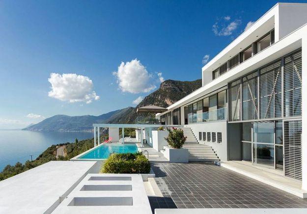 Villa contemporaine en Grèce