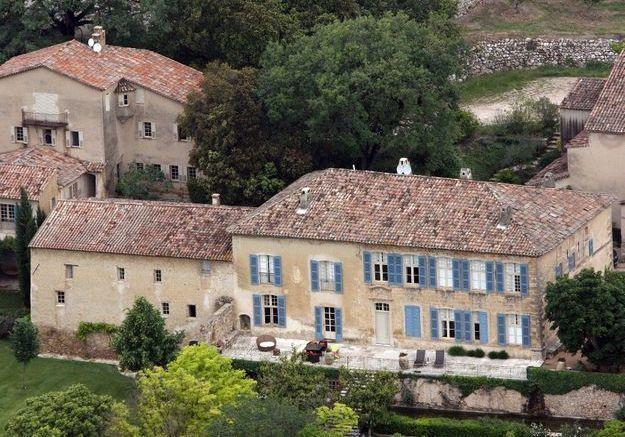 La villa de Brad Pitt et d'Angelina Jolie (Le château de Miraval, France)