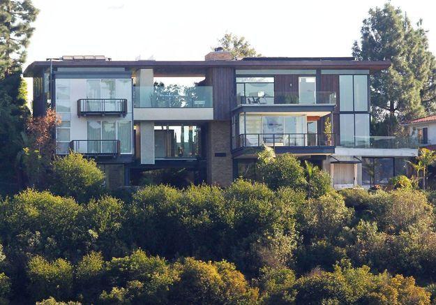 La villa d'Ashton Kutcher (Los Angeles, USA)