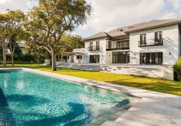 La villa d'Elle Macpherson (Miami, USA)