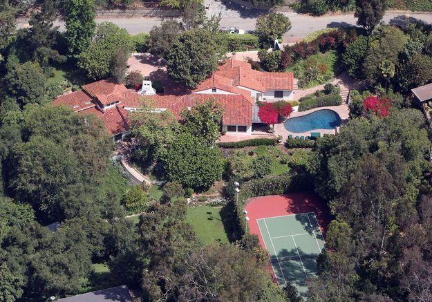 La villa de Cameron Diaz (Beverly Hills, USA)