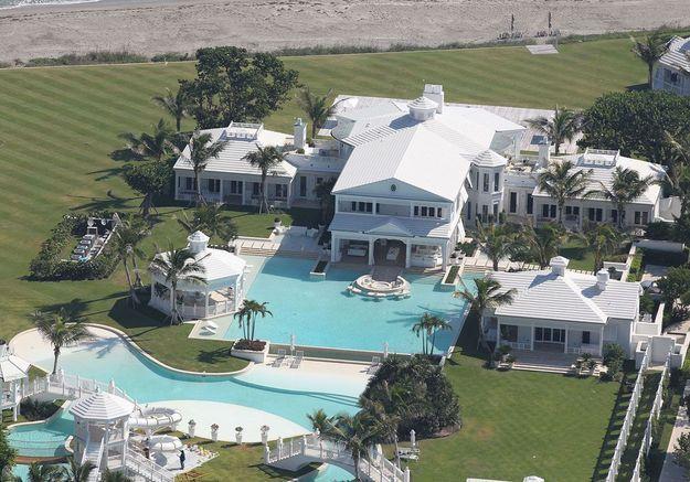 La villa de Céline Dion (Jupiter Island, USA)
