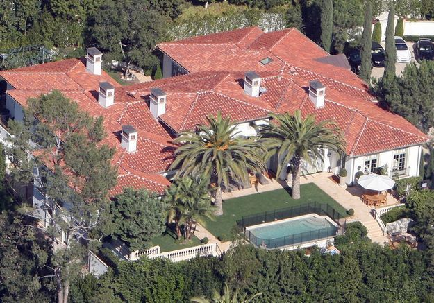 La villa de David et Victoria Beckham (Beverly Hills, USA)