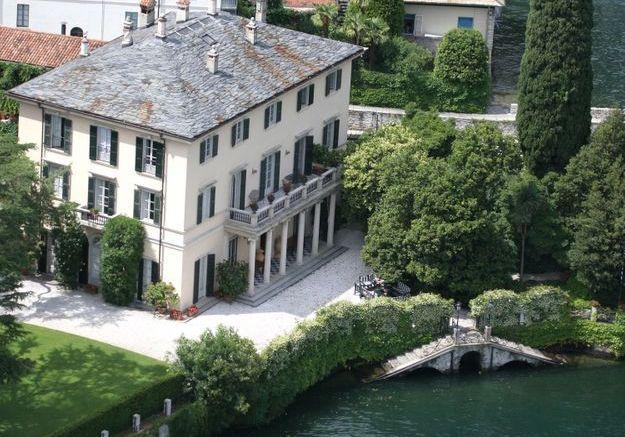 La villa de George Clooney (Lac de Côme, Italie)