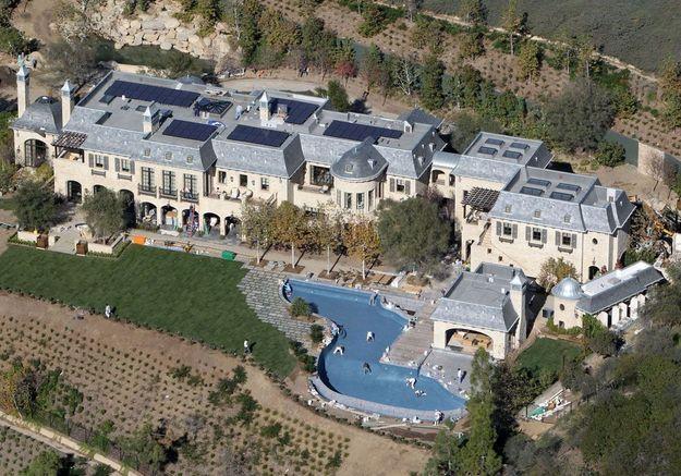 La villa de Gisèle Bundchen (Californie, USA)