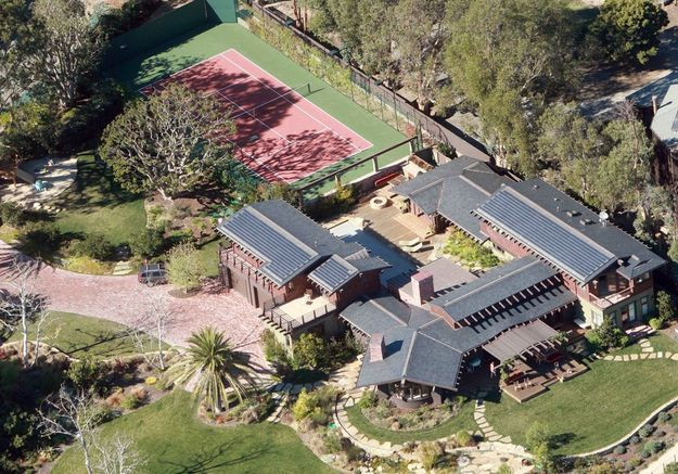 La villa de Julia Roberts (Los Angeles, USA)
