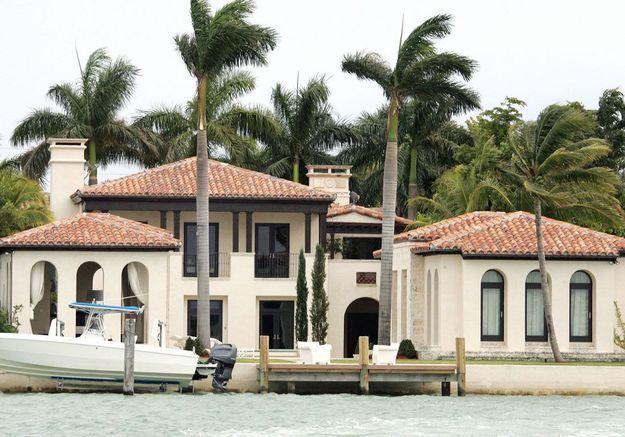 La villa de Matt Damon (Miami, USA)
