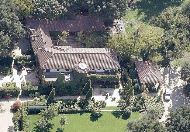 La villa de Michelle Pfeiffer (Californie, USA)