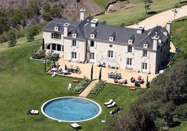 La villa de Pamela Anderson (Malibu, USA)