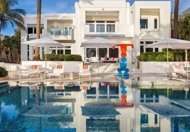 La villa de Tommy Hilfiger (Miami, USA)