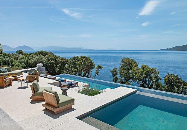 Sur l'île grecque de Leucade : la maison d'architecte de Block722