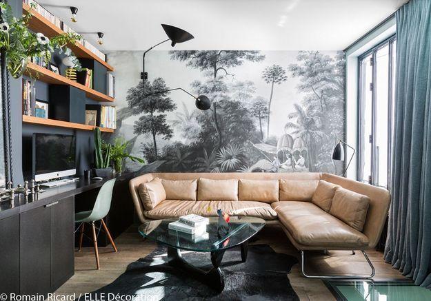 Un salon tropical