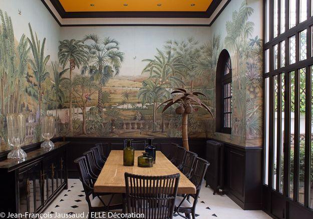 Une salle à manger qui invite au voyage