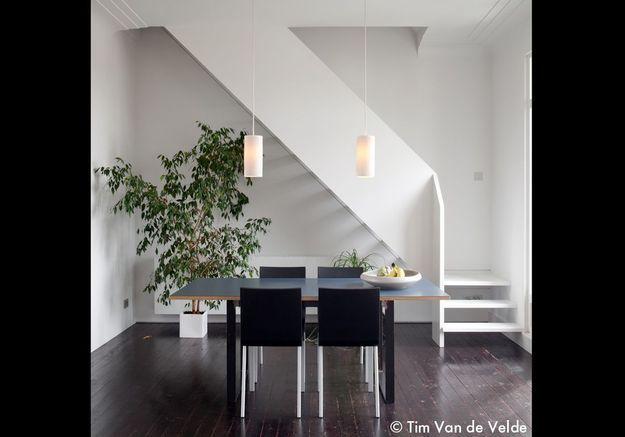 Une salle à manger géométrique